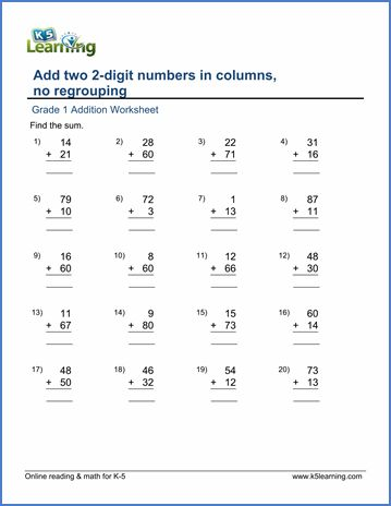 Addition Worksheets For Grade 1 Pdf In 2020 With Images