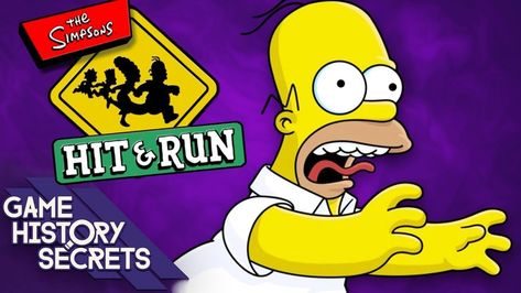 The Simpsons Hit & Run's Lost Sequel + Fun Facts - Game History Secrets | fun facts about history #