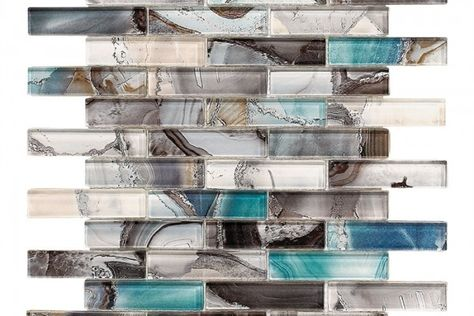 selection for accent tile in upstairs bathroom : gypsea