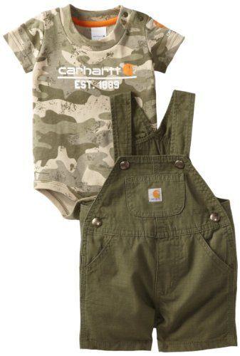 wie man bestellt Laufschuhe beliebt kaufen Carhartt Baby-Boys Infant Washed Latzhose, Ivy Gr … › 2019 ...