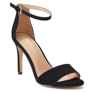 Heels, Ankle strap high heels