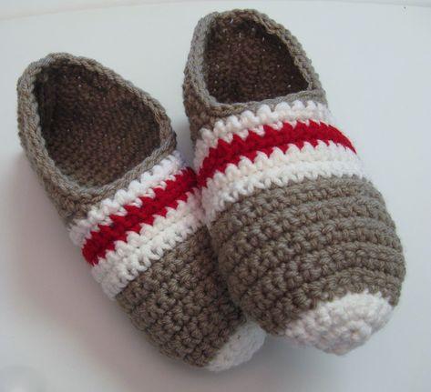 Pantoufles passe-partout au tricot