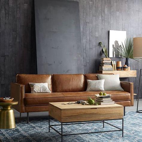 Axel Leather Sofa | west elm $1899^