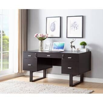 Lark Manor Pinkerton Writing Desk Reviews Wayfair