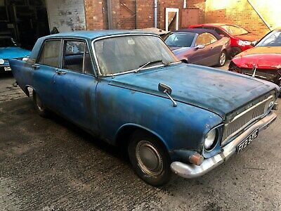 1965 Ford Zephyr 4 Barn Find Needs Restoration Spares Or Repair