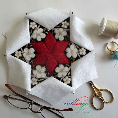 List Of Pinterest Hexagon Quilt Pattern Projects Beautiful Pictures