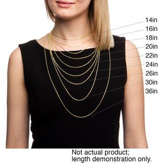 10k Yellow Gold 1mm Rope Chain Necklace 18 Inch Au420a Gold Rope Chains Necklace Types Chain Necklace