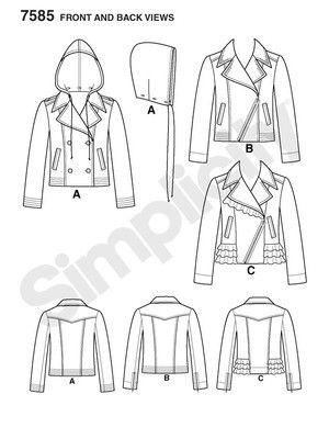 35 besten Jacken Damen Bilder auf Pinterest | Jacken, Jeansjacken ...