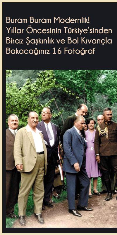 Buram Buram Modernlik! Yıllar Öncesinin Türkiye'sinden Biraz Şaşkınlık ve Bol Kıvançla Bakacağınız 16 Fotoğraf #history Zaman değişiyor, yıllar geçiyor ama eski fotoğraflara hayranlığımız bitmiyor. İşte yıllar öncesinin Türkiye'sinde çekilen ve Ah nerede o günler? dedirten 16 fotoğraf...