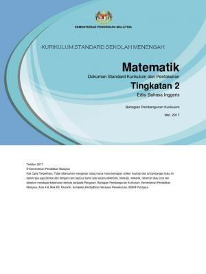 Dskp Kssm Mathematics Form 2 Mathematics Kindergarten Addition Worksheets Addition Kindergarten