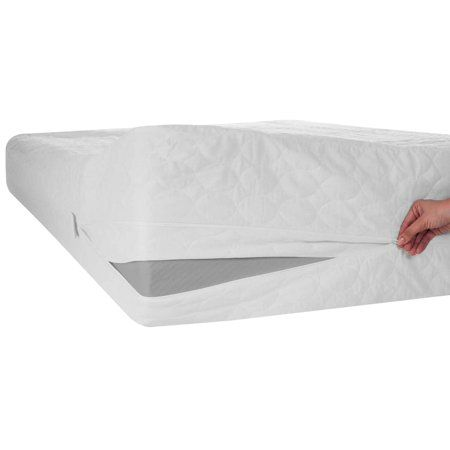 Wayton Mattress Or Box Spring Protector Covers Bed Bug Proof Water Proof Fits Mattress 6 9 Inch Full Size Walmart Com Waterproof Mattress Cover Bed Bugs Box Spring