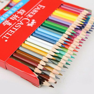 Details About 48 Colors Faber Castell Coloured Pencils Drawing