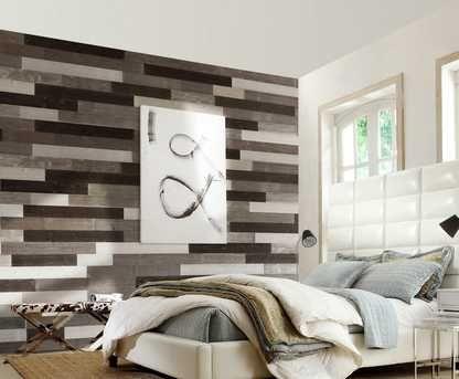 Metro Linear Glass Peel And Stick Mosaic Floor Decor House Tiles Floor Preparation