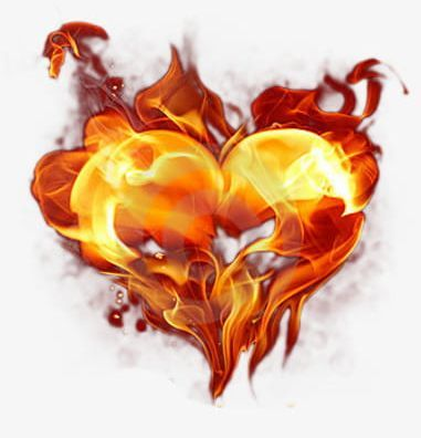 Burning Heart Png Blazing Burning Clipart Burning Clipart Combustion Heart Clipart Heart Clip Art Banner Background Images Fire And Ice