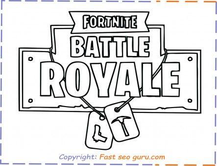 Fortnite Battleroyale Coloringpages For Kids Free Online Fortnite Battle Royal Kids Printable Coloring Pages Coloring Pages For Boys Coloring Pages For Kids
