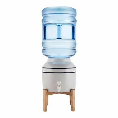 5 Or 3 Gallon Ceramic Bottled Water Dispenser Cooler Top Loading Tabletop Stripe Ebay Water Dispenser Gallon Water Bottle Water Coolers