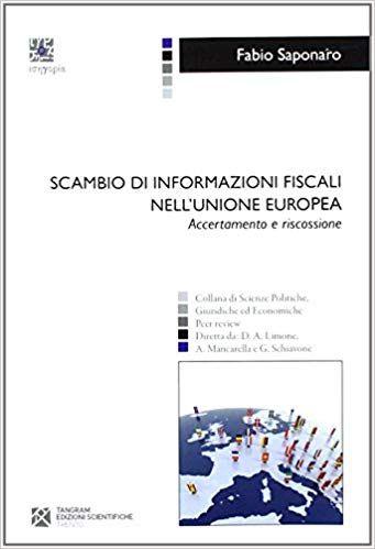 Scambio Di Informazioni Fiscali Nell Unione Europea Accertamento