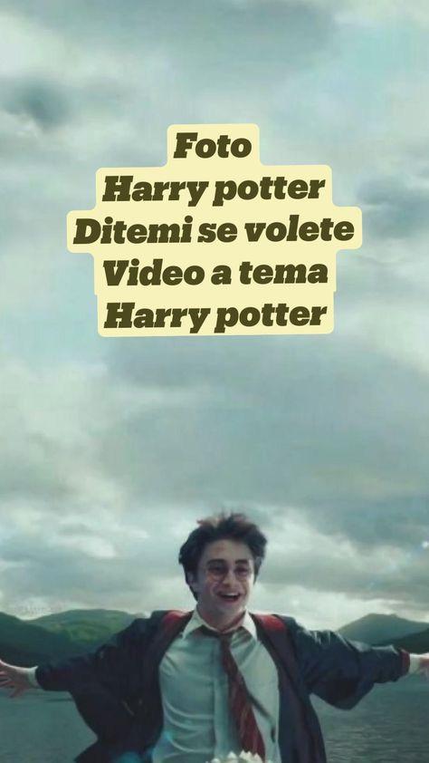Foto Harry potter Ditemi se volete  Video a tema  Harry potter