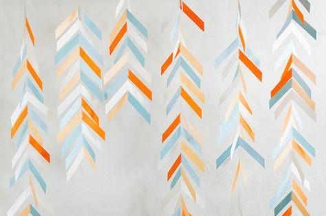 DIY Confetti Photo Backdrop