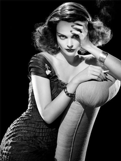 Viktoriya Sasonkina photographed by Steven Meisel.