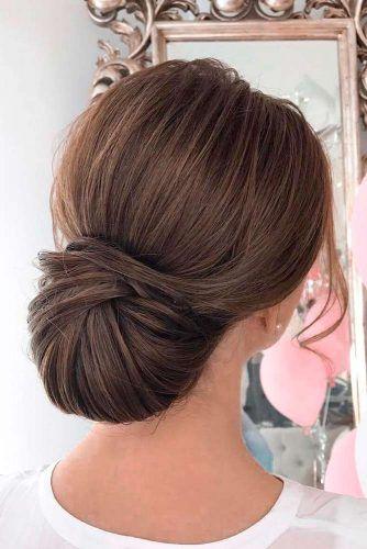 30 Stunning Bridesmaid Updos For A Fabulous Look Sleek Wedding Hairstyles Hair Styles Classic Wedding Hair
