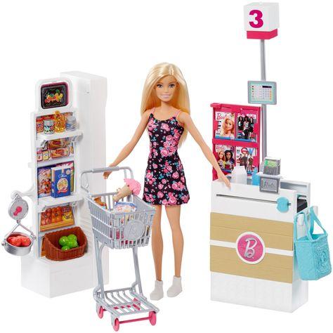 Mattel Barbie Fiat Set Toy Sporty Doll White Car Blue Romper Brand New