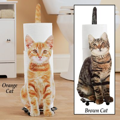 Cat Bathroom Tp Holder Bathroom Toilet Paper Holders Cat Gifts