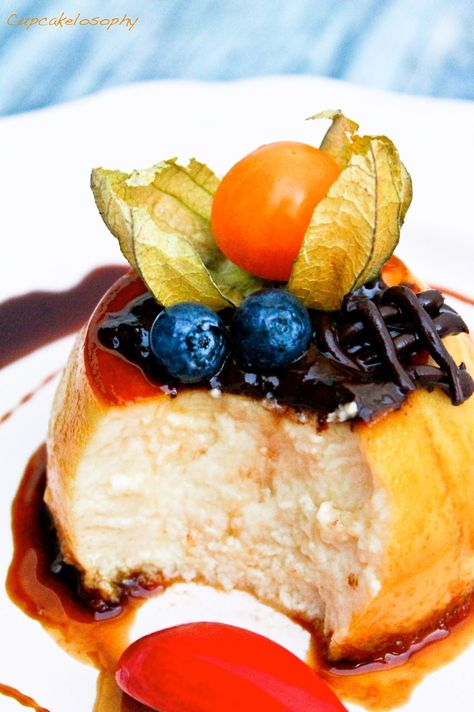 Flan de Queso Mascarpone from Cupcakelosophy ~ http://vipsaccess.com/luxury-hotels-caribbean.html