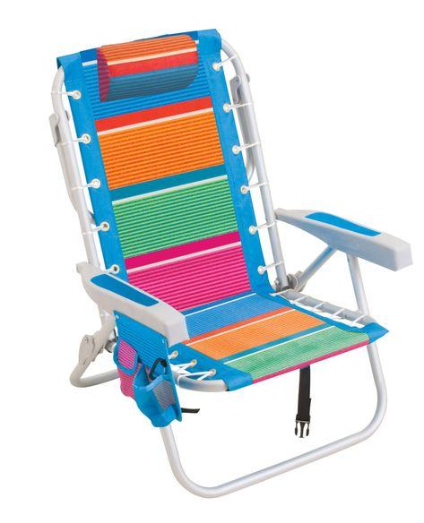 Rio Premium Backpack Beach Chair With Cooler Beach Chairs