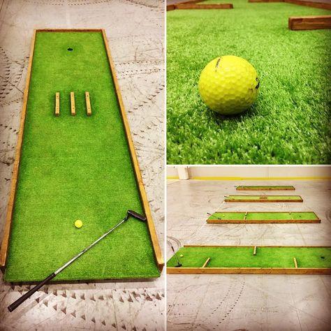 Праздничный мини-гольф