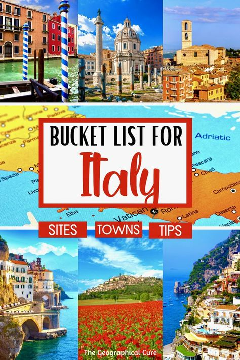 The Ultimate Italy Bucket List