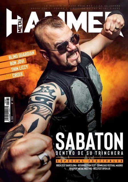 Descarga Metal Metal Hammer España Agosto 2019 Thin Lizzy Metal Rock Fest