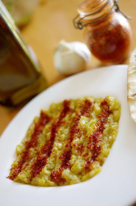 Mtawamme Dip De Courgettes Paris Alep Cuisine Syrienne