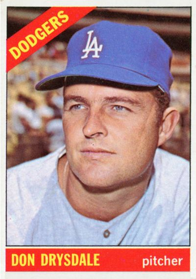 1966 Los Angeles Dodgers Pictorial Roster In 2020 Don Drysdale Baseball Cards Old Baseball Cards