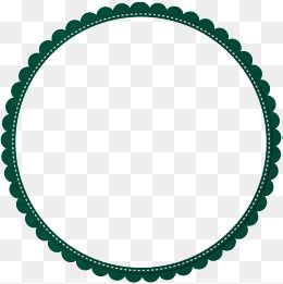 Green Simple Lace Circle Border Texture Circle Clipart Green Simple Png Transparent Clipart Image And Psd File For Free Download Circle Borders Circle Clipart Gold Circle Frames
