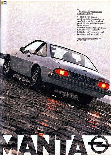 Opel Manta Gt E Magazine Ad Zeitschriftenanzeige Ams 1979 02 Mit Bildern Opel Manta Autos Und Motorrader Manta
