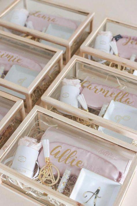 How To Ask Your Bridesmaids, Bridesmaid Proposal Box, Bridesmaid Gift Ideas #weddingideas
