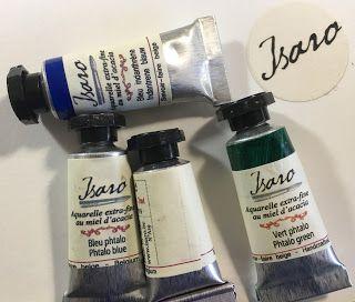 Isaro Watercolours Watercolor Bard Shampoo Bottle