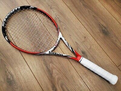 Details About Wilson Steam 99 16x18 Tennis Racquet Grip Size 3 In 2020 Racquet Sports Racquets Tennis