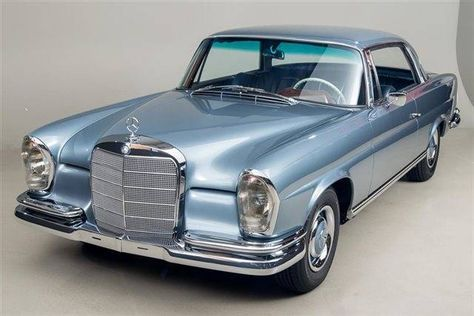 1966 Mercedes Benz 250se Coupe With Images Classic Cars