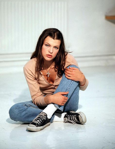Milla Jovovich's back-in-the-day style                                                                                                                                                      More