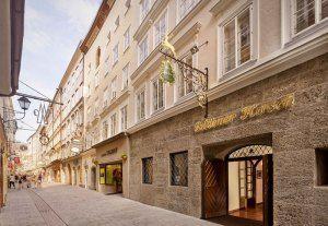 Hotel Goldener Hirsch Erhalt 5 Sterne Superior Klassifizierung Goldener Hirsch Hotel Salzburg Hotel