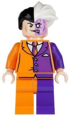 Lego Super Heroes Batman Figur Two Face 6864