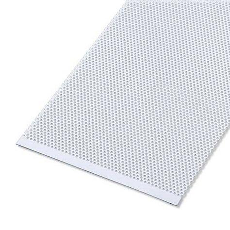 Tole Aluminium Perforee Anodise Gris L 25 X L 50 Cm Ep 0 7 Mm Alfer Tole Aluminium Plaque Cheminee Et Castorama