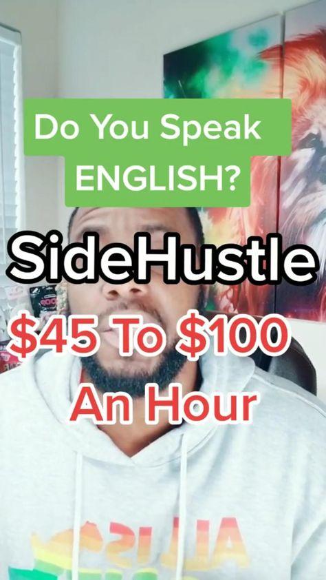 Make 100/hr Speaking English Online!
