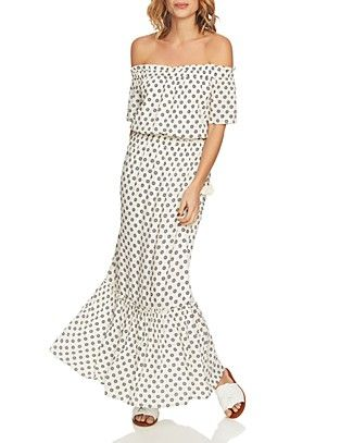 Shop for 1.STATE Off-the-Shoulder Printed
