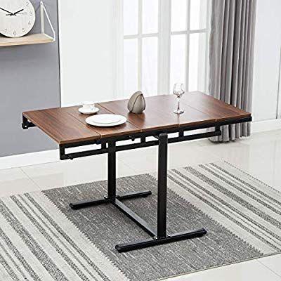 Amazon Com Artist Hand 2 In 1 Bookcase Dining Table Multipurpose
