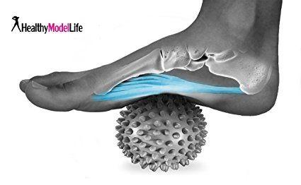 Premium Balle De Massage Avec Picots Particulierement Recommande Pour Aponevrosite Plantaire Reflexologie Arg Aponevrosite Plantaire Reflexologie Massage