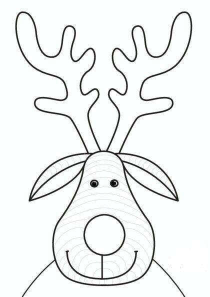 Yeni Yil Boyama Sayfalari Ve Kaliplari Boyama Sayfalari Noel