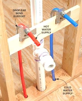 PEX supply pipe is the biggest revolution in plumbing since
